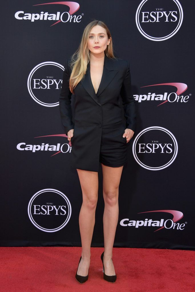 Actor Elizabeth Olsen attends The 2017 ESPYS at Microsoft Theater on July 12, 2017 in Los Angeles, California.  (Photo by Matt Winkelmeyer/Getty Images)