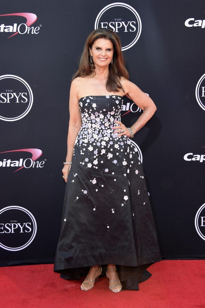 Maria Shriver attends The 2017 ESPYS at Microsoft Theater on July 12, 2017 in Los Angeles, California.  (Photo by Matt Winkelmeyer/Getty Images)