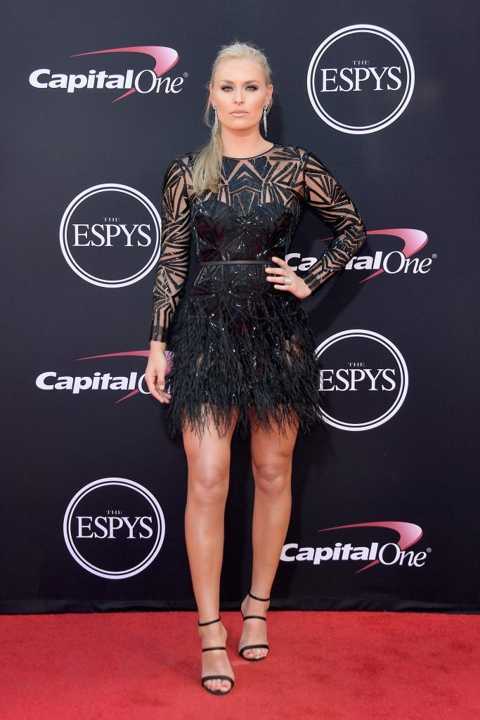 Olympic skier Lindsey Vonn attends The 2017 ESPYS at Microsoft Theater on July 12, 2017 in Los Angeles, California.  (Photo by Matt Winkelmeyer/Getty Images)