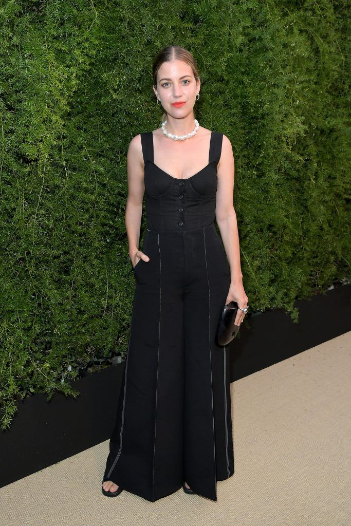 Sophie Buhai at CHANEL Dinner Celebrating Lucia Pica & The Travel Diary Makeup Collection on July 12, 2017 in Los Angeles, California.  (Photo by Charley Gallay/Getty Images for CHANEL)