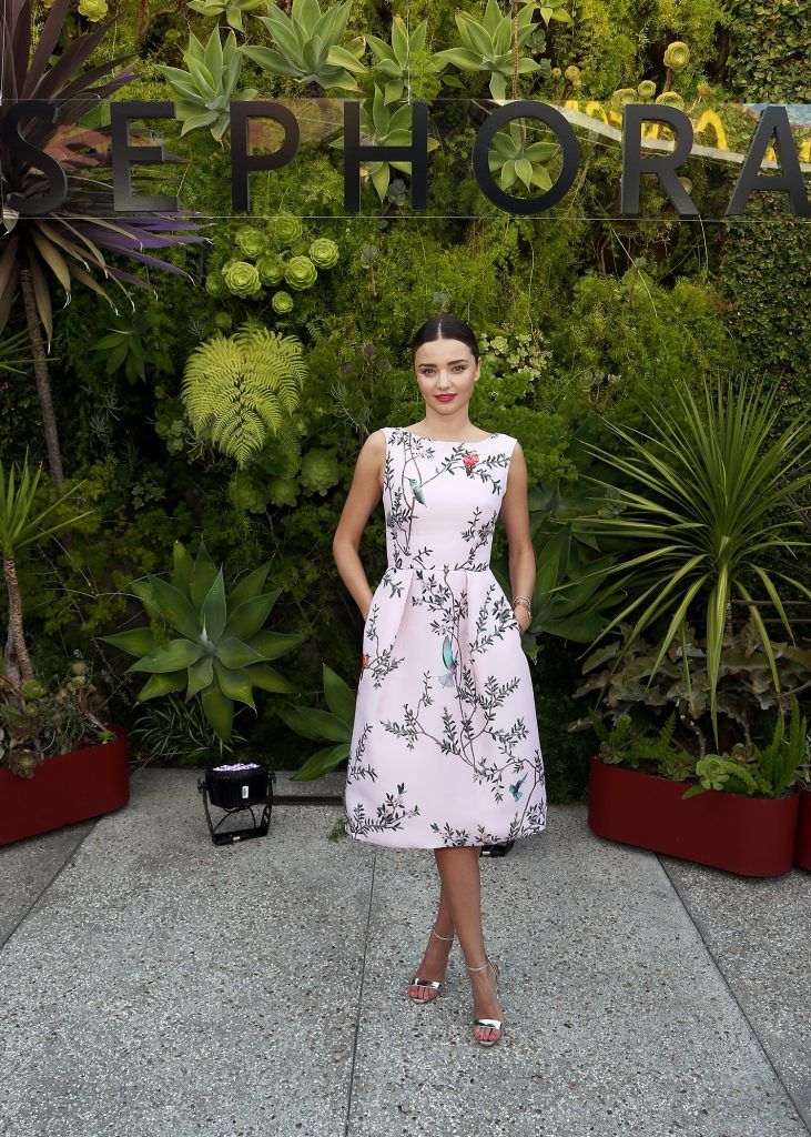 Miranda Kerr at Sephora's SuperFood event at Smogshoppe on July 13, 2017 in Los Angeles, California.  (Photo by Tommaso Boddi/Getty Images for Sephora)