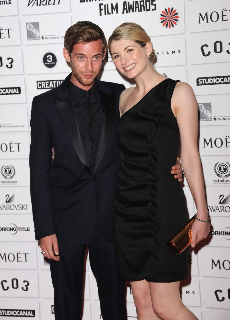 Luke Treadaway and Jodie Whittaker attends The Moet British Independent Film Awards at Old Billingsgate Market on December 4, 2011 in London, England.  (Photo by Stuart Wilson/Getty Images)
