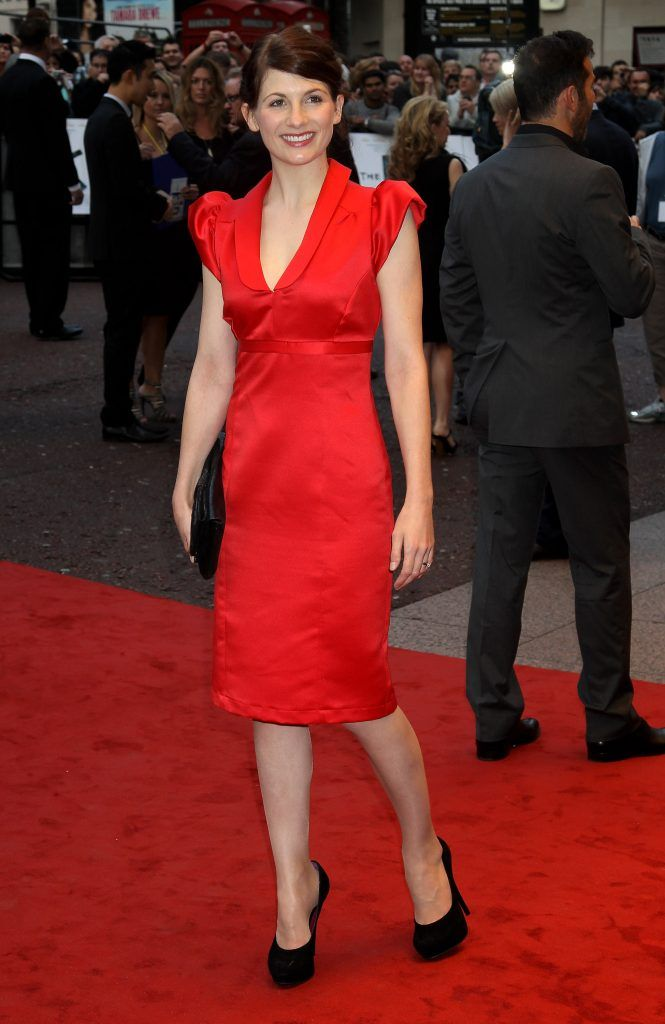 Jodie Whittaker arrives at the 'Kid' Premiere at the Odeon Leicester Square on September 15, 2010 in London, England.  (Photo by Chris Jackson/Getty Images)