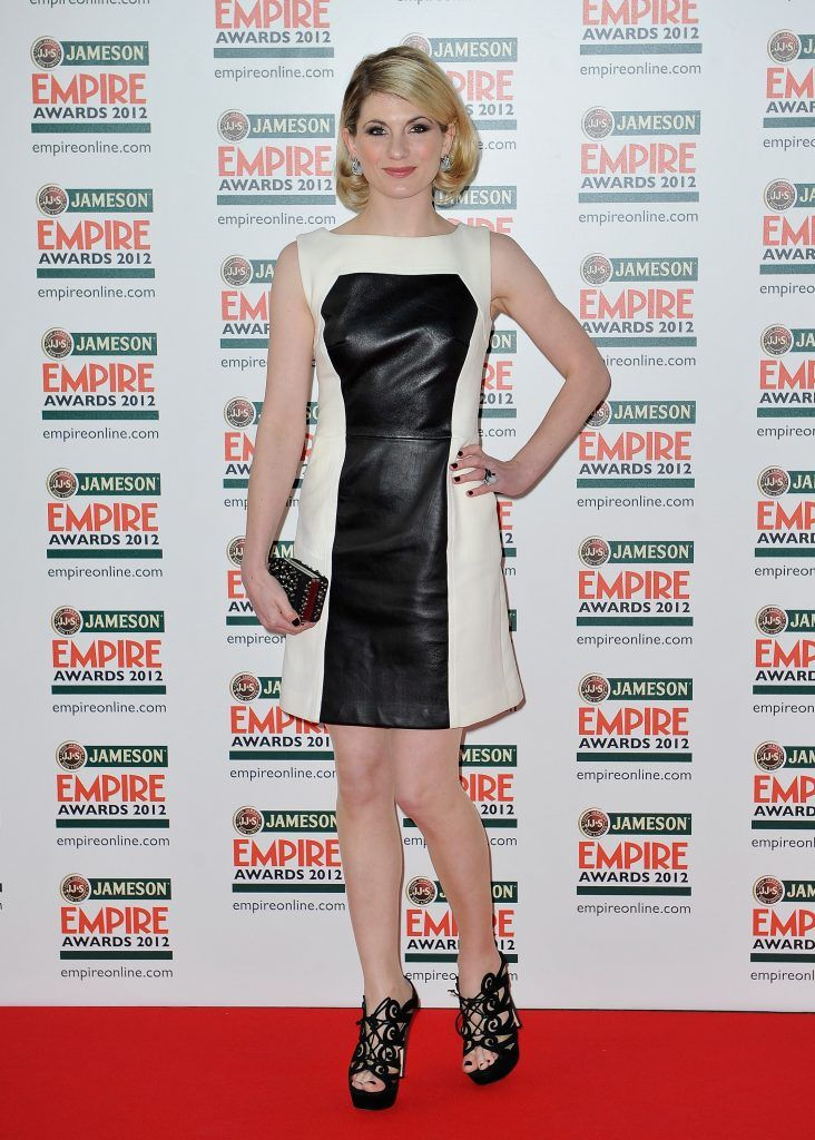 Jodie Whittaker attends the 2012 Jameson Empire Awards at the Grosvenor House Hotel on March 25, 2012 in London, England.  (Photo by Gareth Cattermole/Getty Images for Jameson)