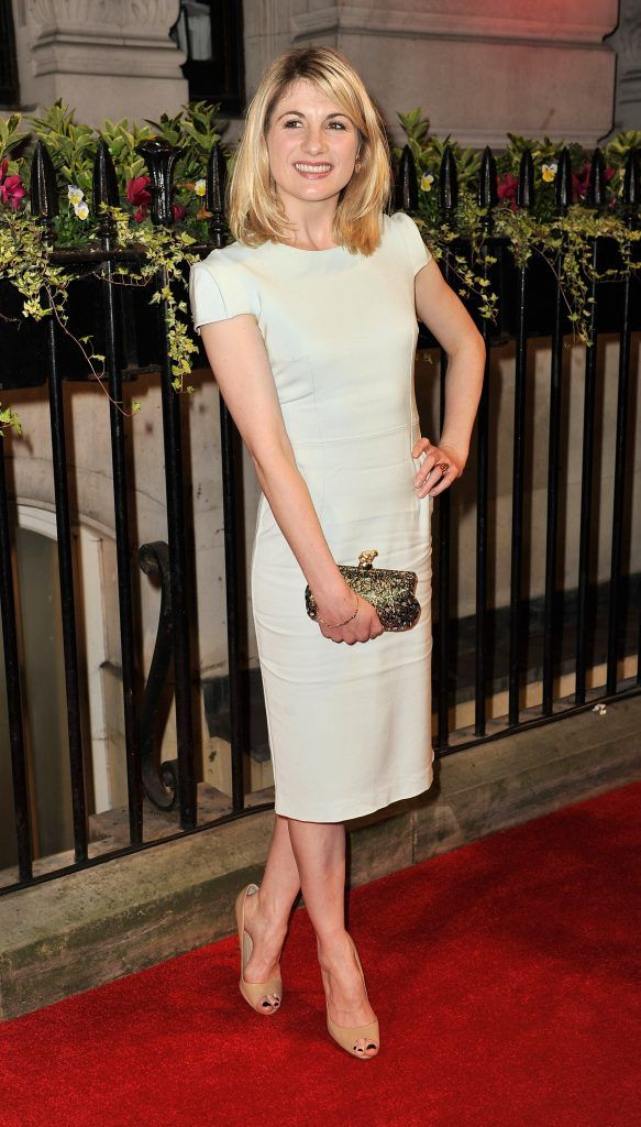 Jodie Whittaker attends a gala dinner hosted by the BFI ahead of the 57th London Film Festival at 8 Northumberland Avenue on October 8, 2013 in London, England.  (Photo by Gareth Cattermole/Getty Images)