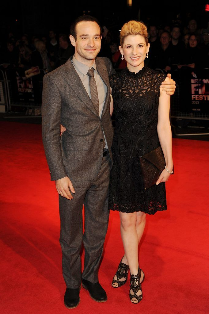 """Charlie Cox and Jodie Whittaker attend a screening of """"Hello Carter"""" during the 57th BFI London Film Festival at Odeon West End on October 12, 2013 in London, England.  (Photo by Eamonn M. McCormack/Getty Images for BFI)"""