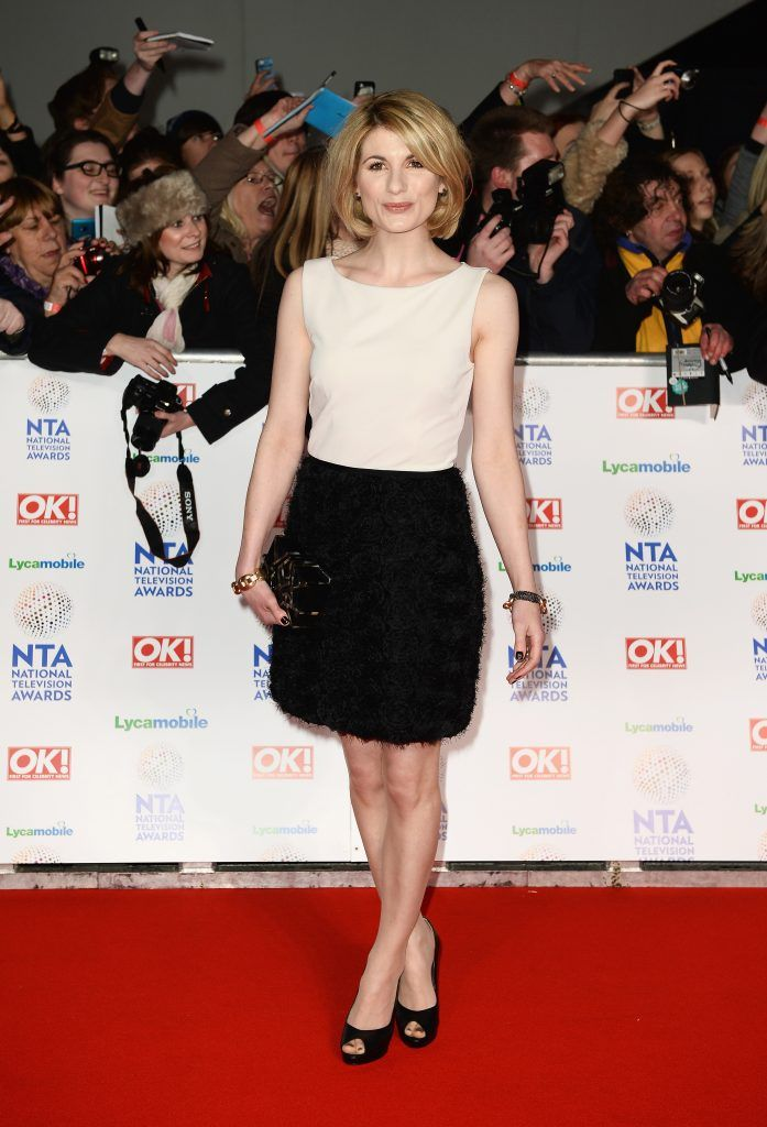Jodie Whittaker attends the National Television Awards at 02 Arena on January 22, 2014 in London, England.  (Photo by Ian Gavan/Getty Images)