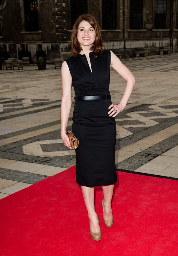 Jodie Whittaker attends the Women For Women International Gala in association with Harper's Bazaar at The Guildhall on May 3, 2012 in London, England.  (Photo by Ian Gavan/Getty Images)