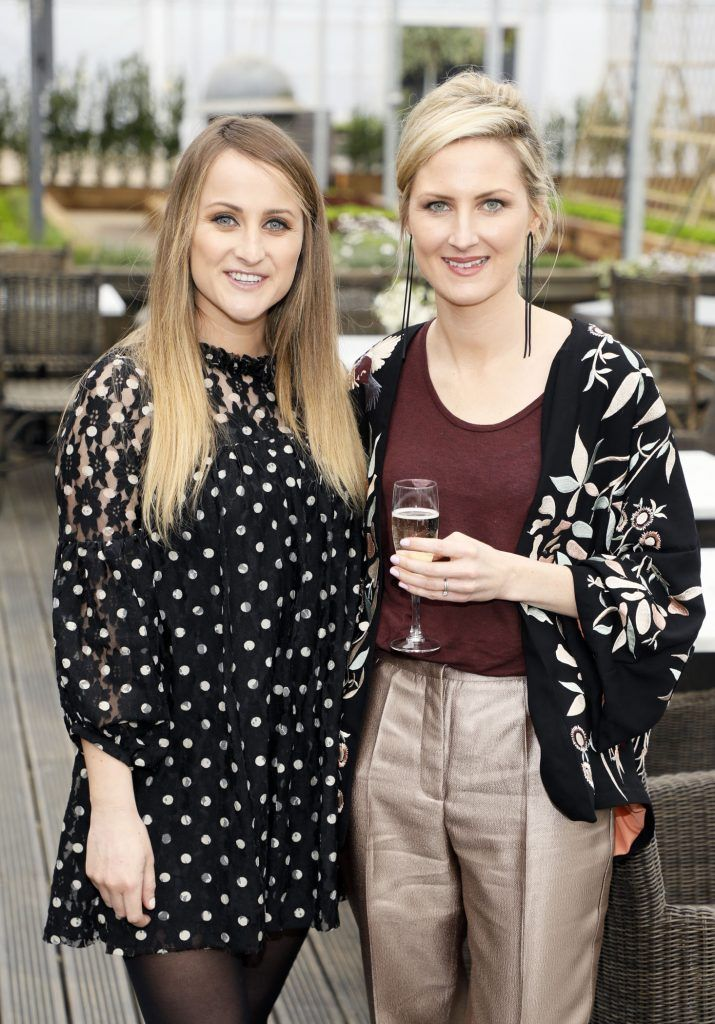Justine King and Sarah Ricard at the exclusive launch of AVOCA Dunboyne in the beautiful surrounds of the brand-new store on Tuesday 4th April. The event was attended by key lifestyle media, social influencers and stylists-photo Kieran Harnett