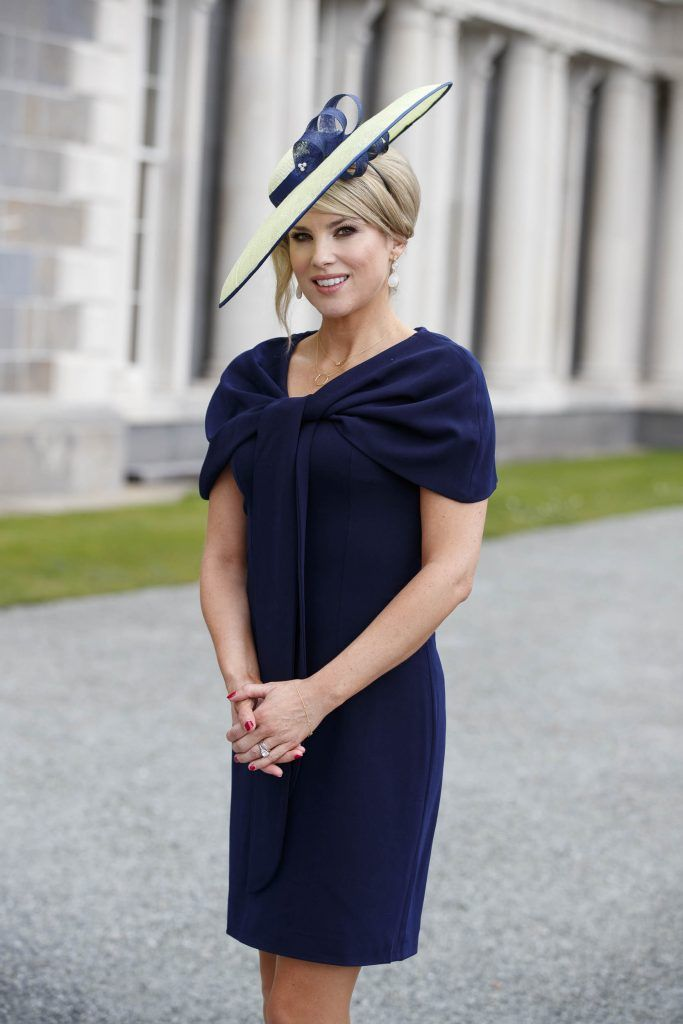 Carton House Most Stylish Lady competition at the Irish Grand National Fairyhouse. Picture Andres Poveda