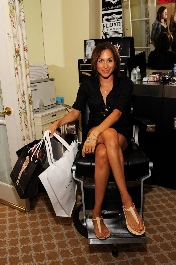 Meghan Markle attends the DPA pre-Emmy Gift Lounge at the Peninsula Hotel on September 18, 2009 in Beverly Hills, California.  (Photo by Amanda Edwards/Getty Images)