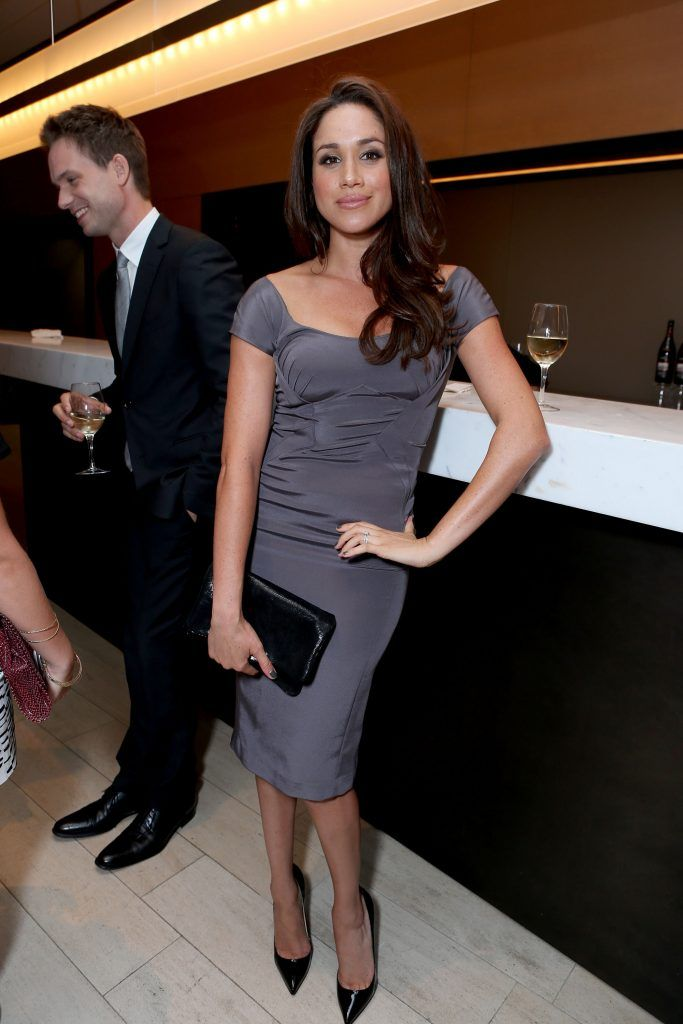 Meghan Markle attends the FINCA Canada Fundraiser At TIFF 2012 during the Toronto International Film Festival on September 11, 2012 in Toronto, Canada.  (Photo by Alexandra Wyman/Getty Images For FINCA)