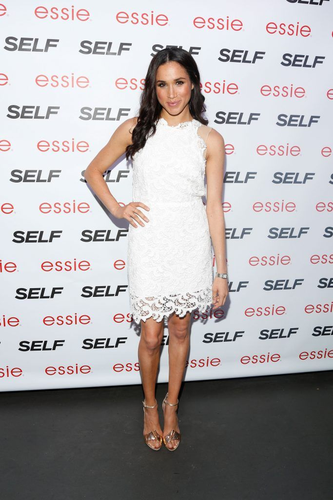 Meghan Markle attends Self Rocks the Summer Event on July 16, 2013 in New York City.  (Photo by Cindy Ord/Getty Images for SELF Magazine)