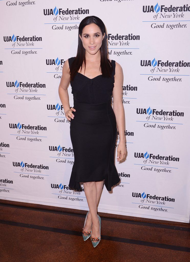Meghan Markle attends The UJA-Federation of New York's Entertainment Division Signature Gala at 583 Park Avenue on June 2, 2015 in New York City.  (Photo by Stephen Lovekin/Getty Images)