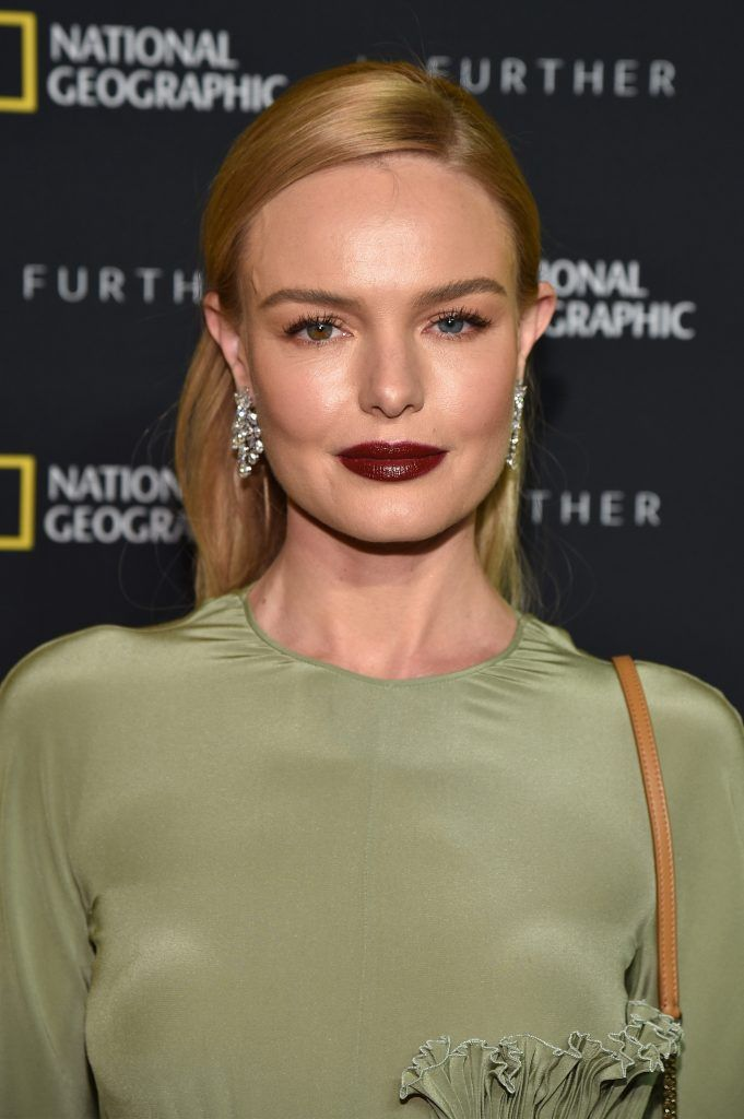 Actress Kate Bosworth at National Geographic's Further Front Event at Jazz at Lincoln Center on April 19, 2017 in New York City.  (Photo by Bryan Bedder/Getty Images for National Geographic)