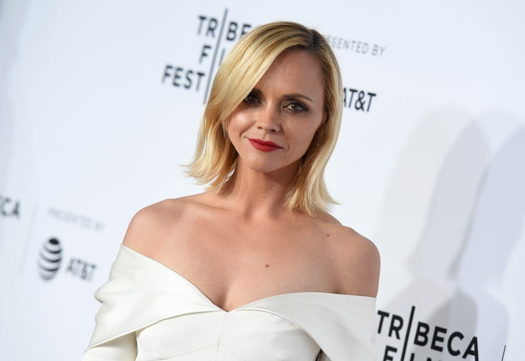 "Actress Christina Ricci attends the Opening Night of the 2017 Tribeca Film Festival and the world premiere of ""Clive Davis: The Soundtrack Of Our Lives"" at Radio City Music Hall on April 19, 2017, in New York City.  (Photo by ANGELA WEISS/AFP/Getty Images)"