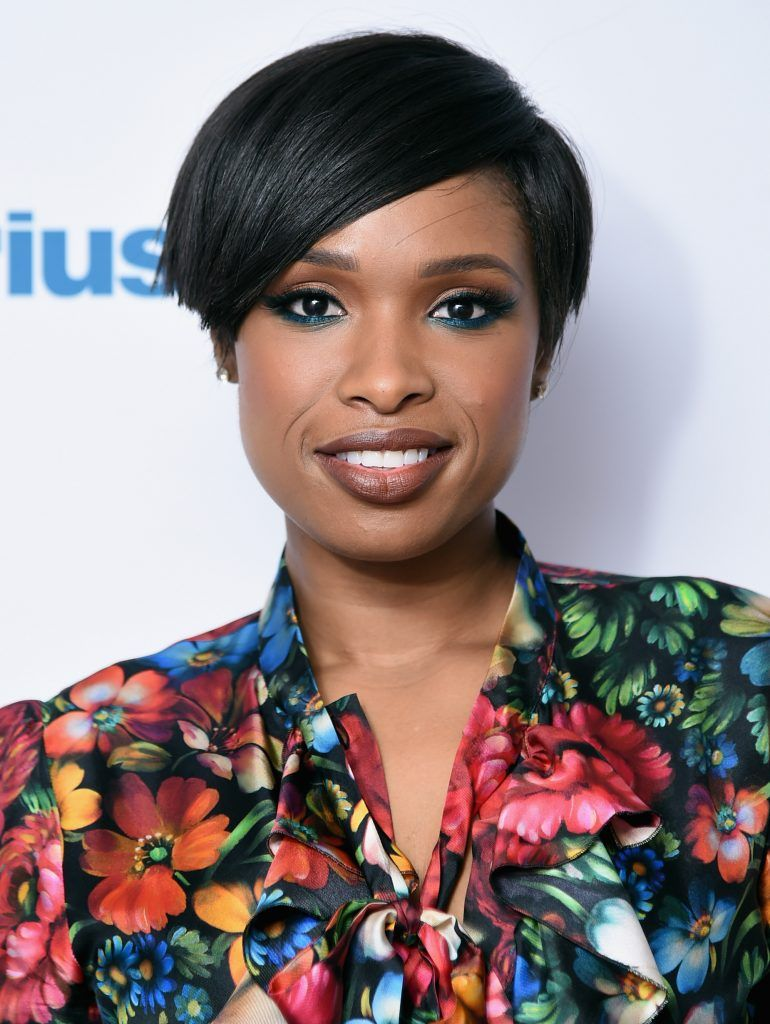 Jennifer Hudson visits SiriusXM at SiriusXM Studios on April 17, 2017 in New York City.  (Photo by Michael Loccisano/Getty Images)