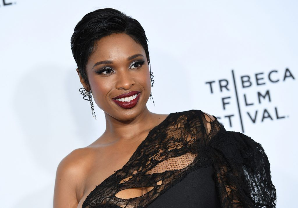"Actress Jennifer Hudson attends the Opening Night of the 2017 Tribeca Film Festival and the world premiere of ""Clive Davis: The Soundtrack Of Our Lives"" at Radio City Music Hall on April 19, 2017, in New York City.   (Photo by ANGELA WEISS/AFP/Getty Images)"