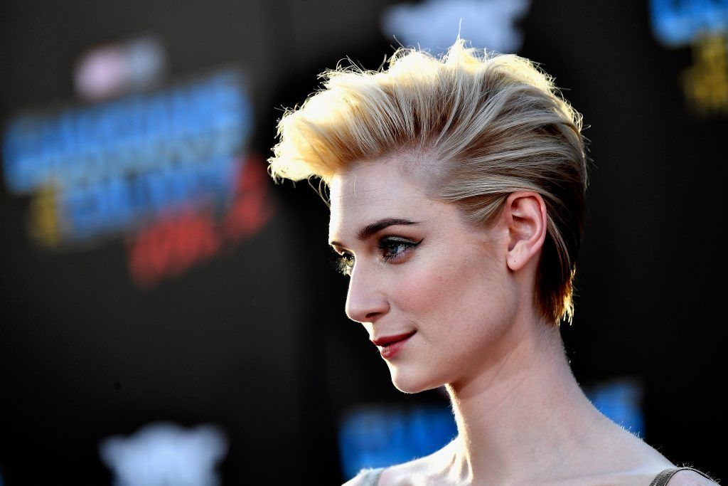 "Actress Elizabeth Debicki arrives at the premiere of Disney and Marvel's ""Guardians Of The Galaxy Vol. 2"" at Dolby Theatre on April 19, 2017 in Hollywood, California.  (Photo by Frazer Harrison/Getty Images)"