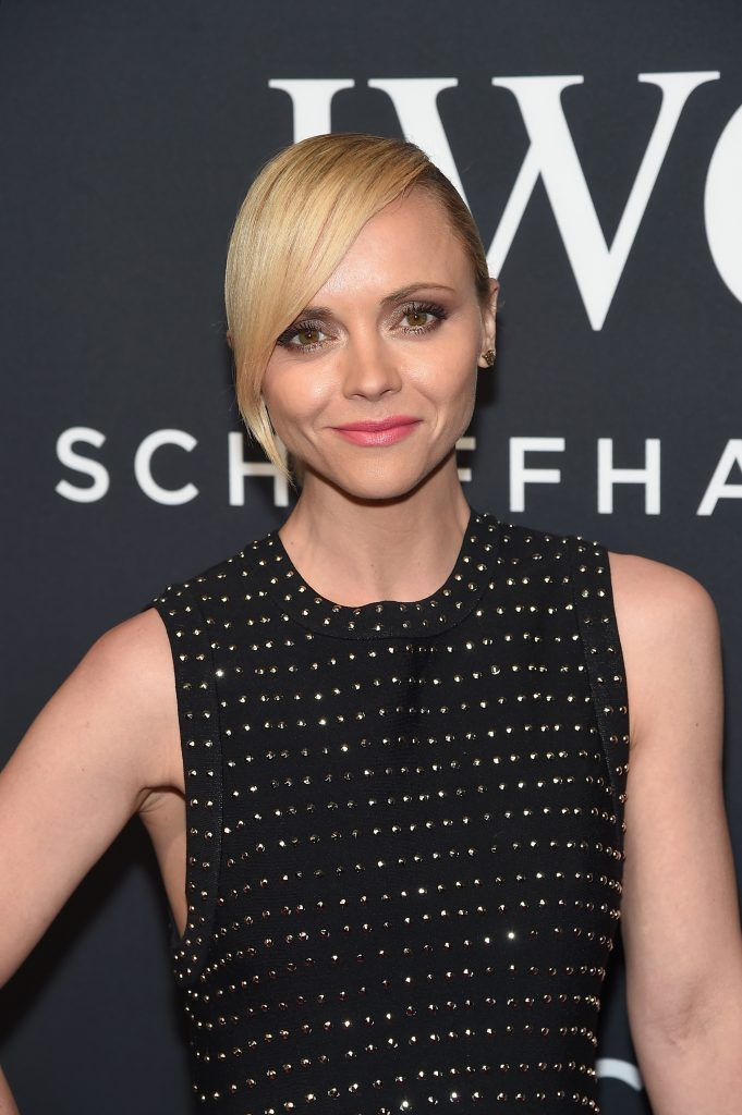 Actress Christina Ricci attends the exclusive gala event 'For the Love of Cinema' during the Tribeca Film Festival hosted by luxury watch manufacturer IWC Schaffhausen on April 20, 2017 in New York City.  (Photo by Jamie McCarthy/Getty Images for IWC)