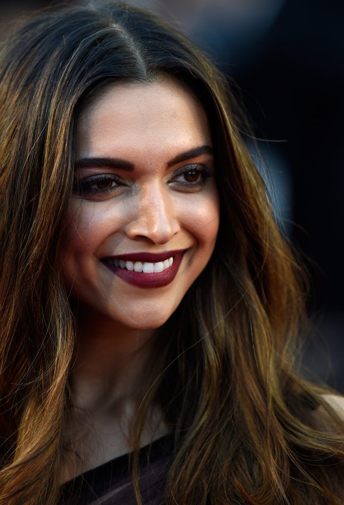 """Actress Deepika Padukone attends the """"Ismael's Ghosts (Les Fantomes d'Ismael)"""" screening and Opening Gala during the 70th annual Cannes Film Festival at Palais des Festivals on May 17, 2017 in Cannes, France.  (Photo by Antony Jones/Getty Images)"""