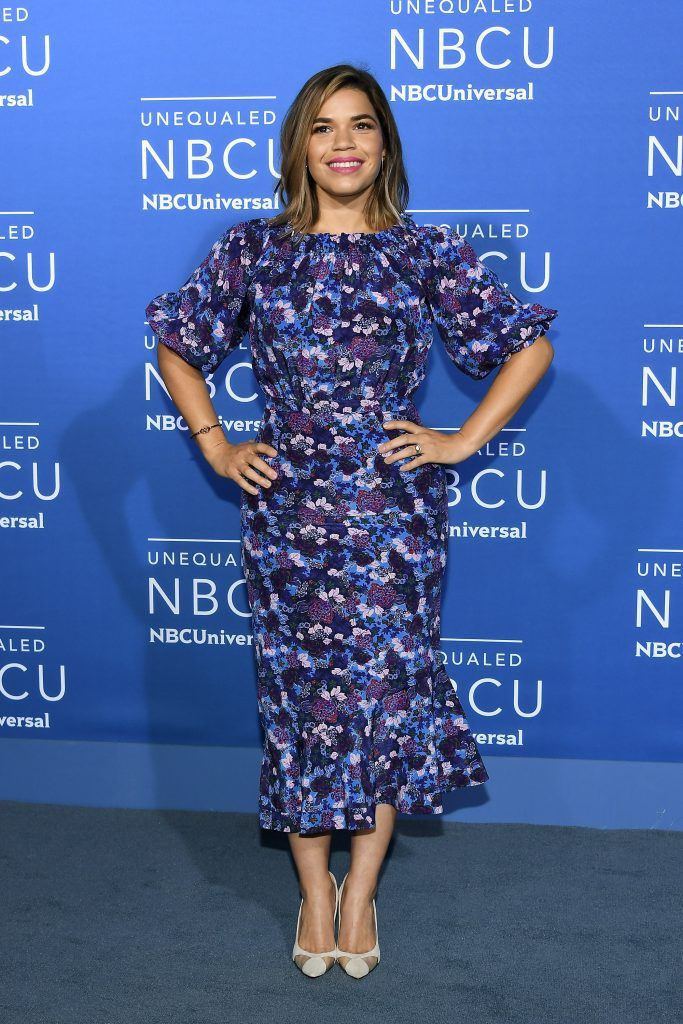 America Ferrera attends the 2017 NBCUniversal Upfront at Radio City Music Hall on May 15, 2017 in New York City.  (Photo by Dia Dipasupil/Getty Images)