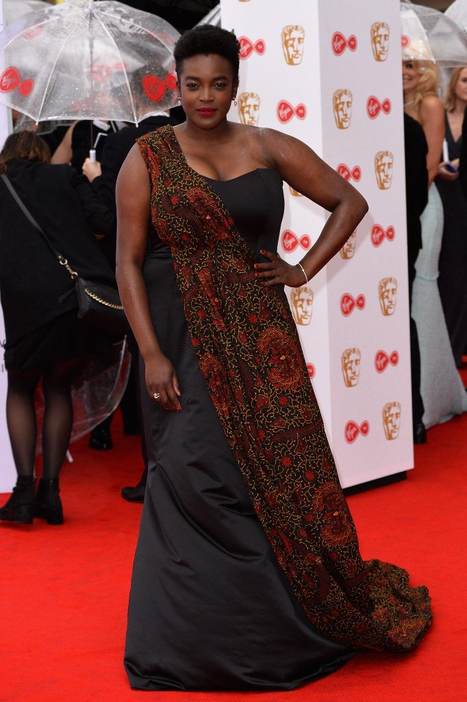 Wunmi Mosaku attends the Virgin TV BAFTA Television Awards at The Royal Festival Hall on May 14, 2017 in London, England.  (Photo by Jeff Spicer/Getty Images)