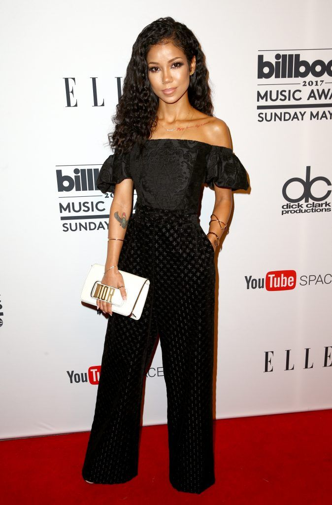 Singer Jhene Aiko attends the '2017 Billboard Music Awards' And ELLE Present Women In Music At YouTube Space LA at YouTube Space LA on May 16, 2017 in Los Angeles, California.  (Photo by Rich Fury/Getty Images)