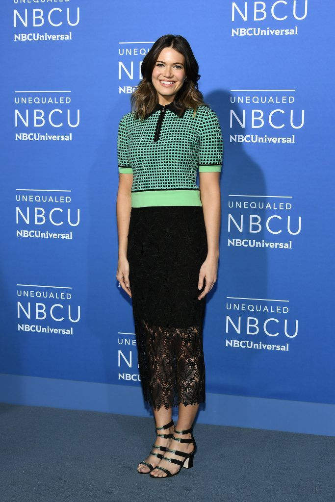 Mandy Moore attends the 2017 NBCUniversal Upfront at Radio City Music Hall on May 15, 2017 in New York City.  (Photo by Dia Dipasupil/Getty Images)