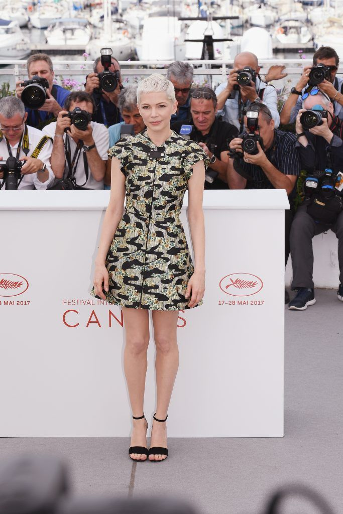 """Actress Michelle Williams attends """"Wonderstruck"""" Photocall during the 70th annual Cannes Film Festival at Palais des Festivals on May 18, 2017 in Cannes, France.  (Photo by Matthias Nareyek/Getty Images)"""