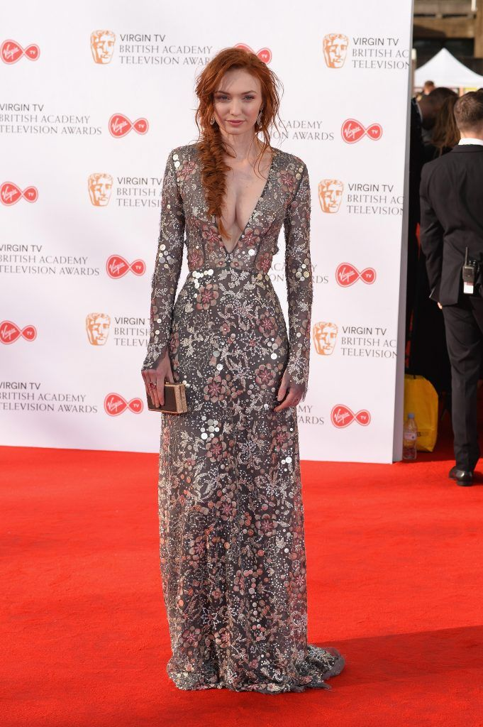 Eleanor Tomlinson attends the Virgin TV BAFTA Television Awards at The Royal Festival Hall on May 14, 2017 in London, England.  (Photo by Jeff Spicer/Getty Images)
