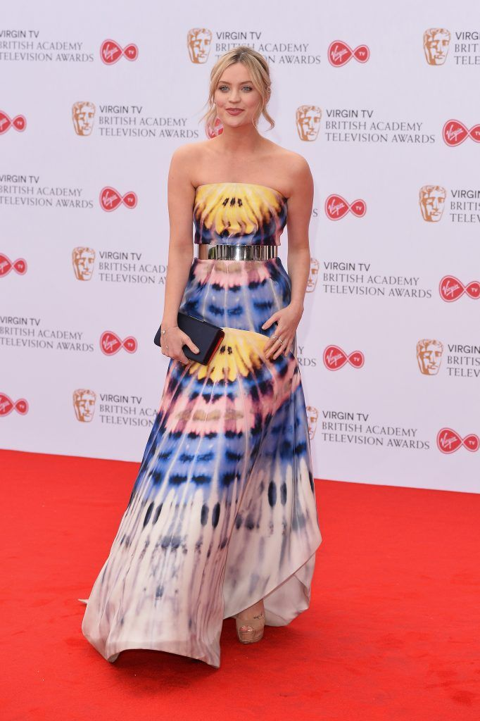 Laura Whitmore attends the Virgin TV BAFTA Television Awards at The Royal Festival Hall on May 14, 2017 in London, England.  (Photo by Jeff Spicer/Getty Images)