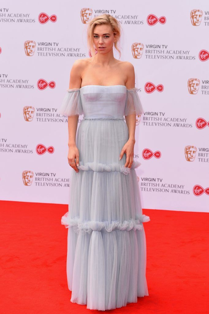Vanessa Kirby attends the Virgin TV BAFTA Television Awards at The Royal Festival Hall on May 14, 2017 in London, England.  (Photo by Jeff Spicer/Getty Images)