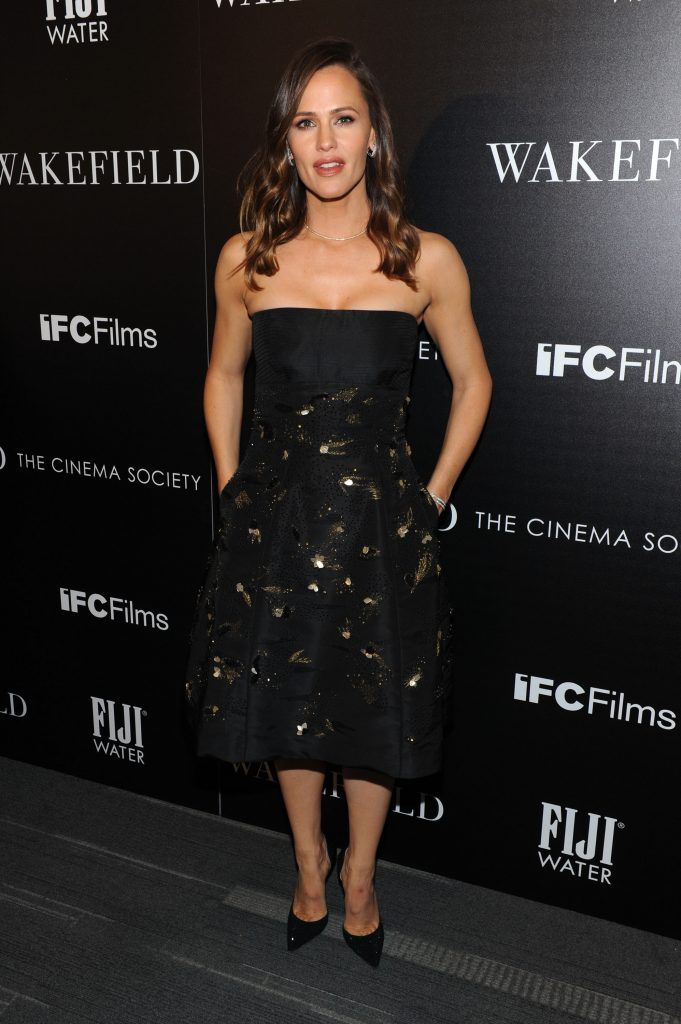 """Jennifer Garner attends a special screening of """"Wakefield"""" hosted by FIJI Water and the Cinema Society at Landmark Sunshine Cinema on May 18, 2017 in New York City.  (Photo by Craig Barritt/Getty Images for FIJI Water)"""