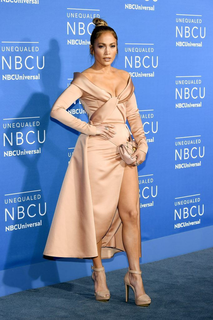 Jennifer Lopez attends the 2017 NBCUniversal Upfront at Radio City Music Hall on May 15, 2017 in New York City.  (Photo by Dia Dipasupil/Getty Images)