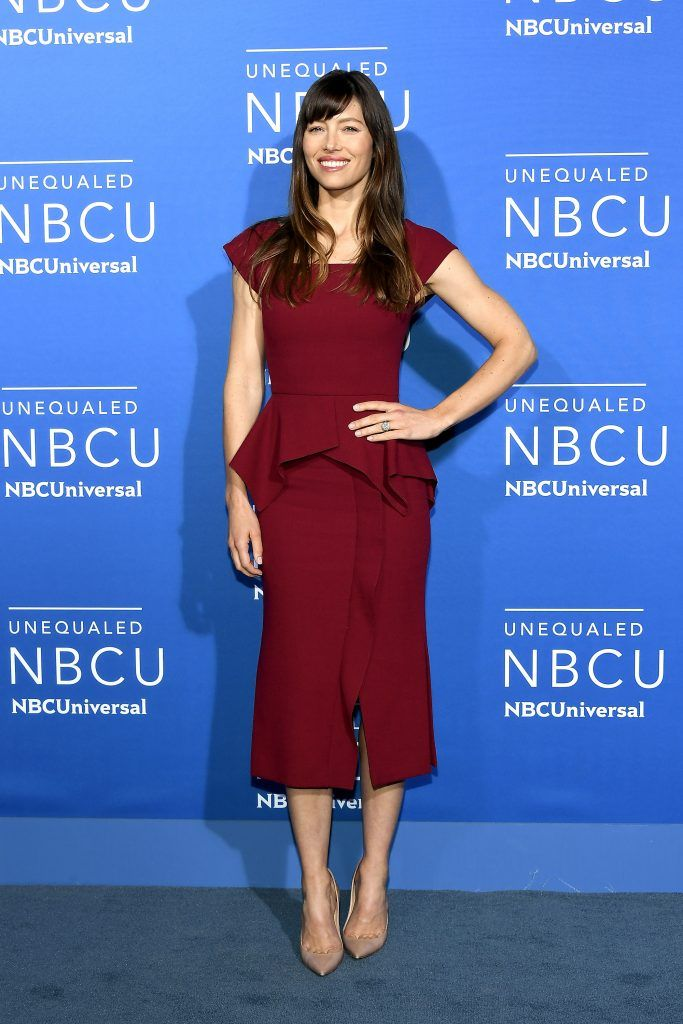 Jessica Biel attends the 2017 NBCUniversal Upfront at Radio City Music Hall on May 15, 2017 in New York City.  (Photo by Dia Dipasupil/Getty Images)