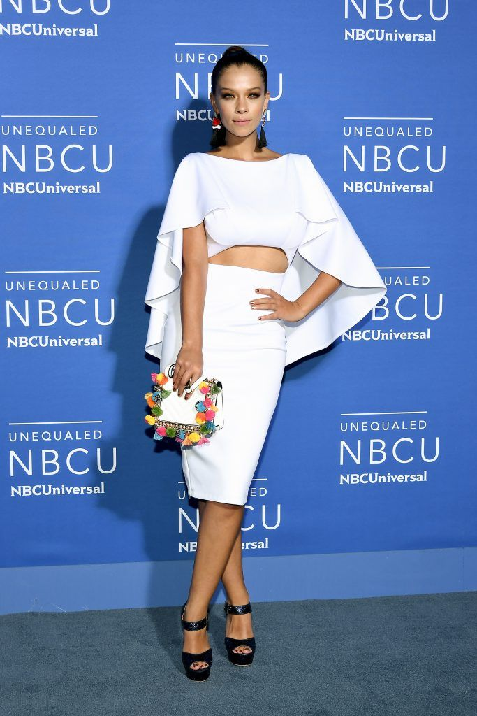 Carolina Miranda attends the 2017 NBCUniversal Upfront at Radio City Music Hall on May 15, 2017 in New York City.  (Photo by Dia Dipasupil/Getty Images)