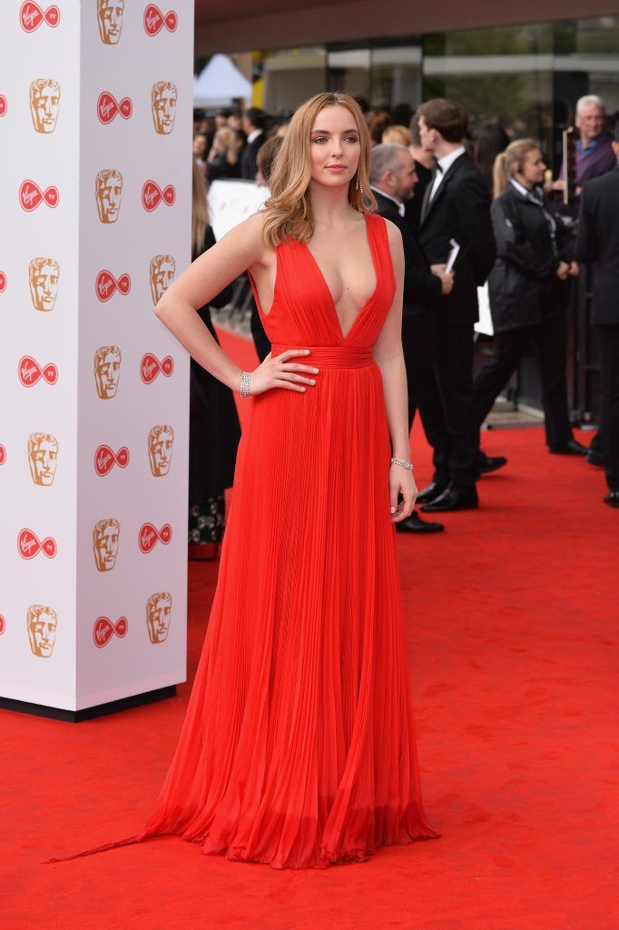Jodie Comer attends the Virgin TV BAFTA Television Awards at The Royal Festival Hall on May 14, 2017 in London, England.  (Photo by Jeff Spicer/Getty Images)