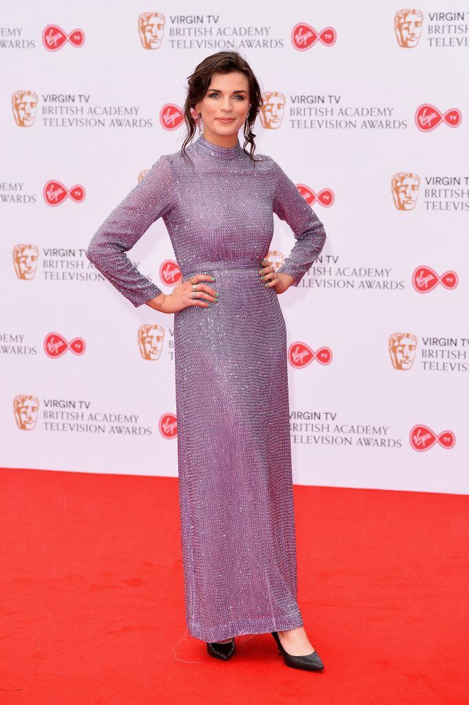 Aisling Bea attends the Virgin TV BAFTA Television Awards at The Royal Festival Hall on May 14, 2017 in London, England.  (Photo by Jeff Spicer/Getty Images)