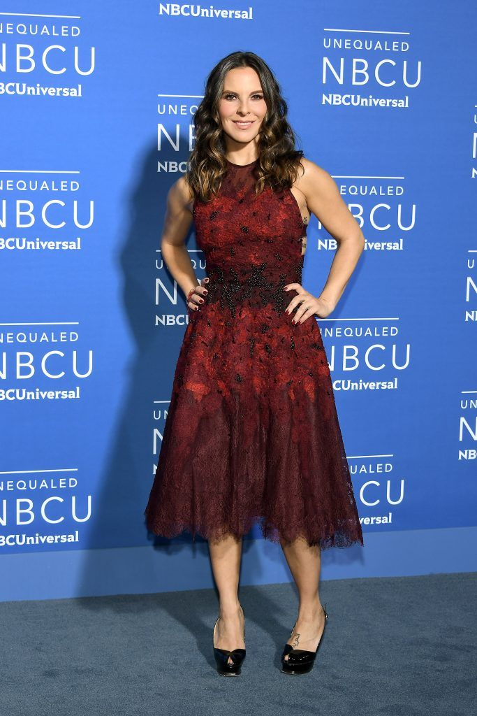 Kate del Castillo attends the 2017 NBCUniversal Upfront at Radio City Music Hall on May 15, 2017 in New York City.  (Photo by Dia Dipasupil/Getty Images)