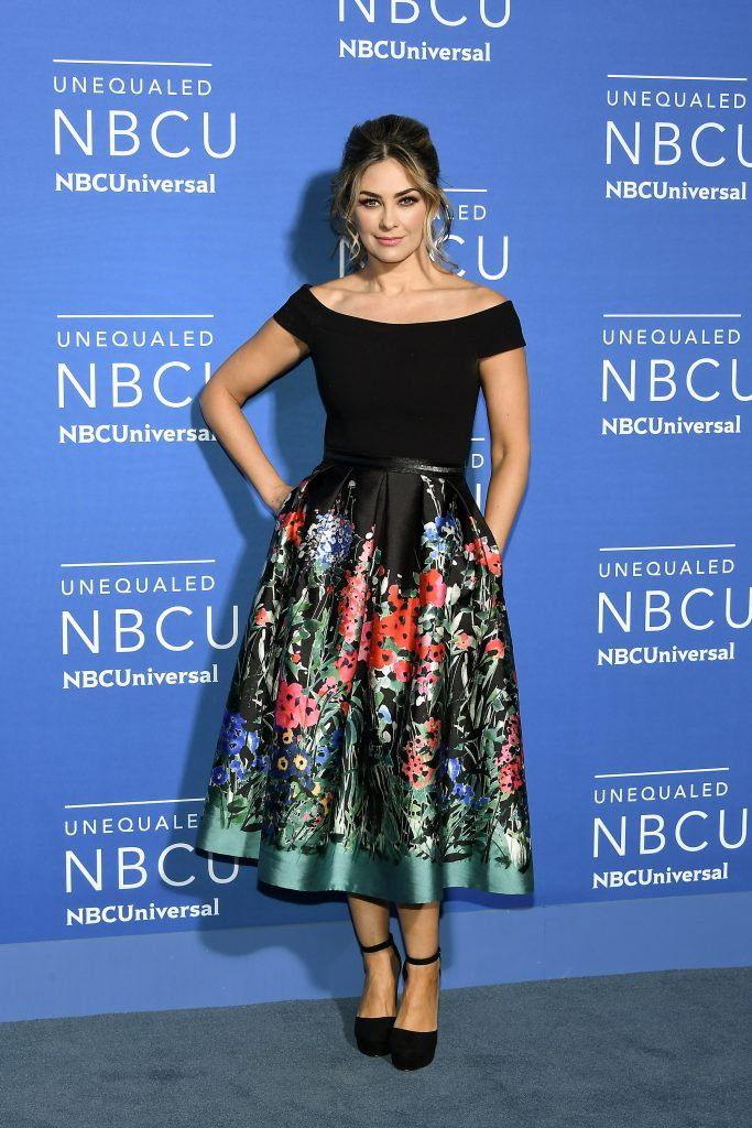 Aracely Arambula attends the 2017 NBCUniversal Upfront at Radio City Music Hall on May 15, 2017 in New York City.  (Photo by Dia Dipasupil/Getty Images)