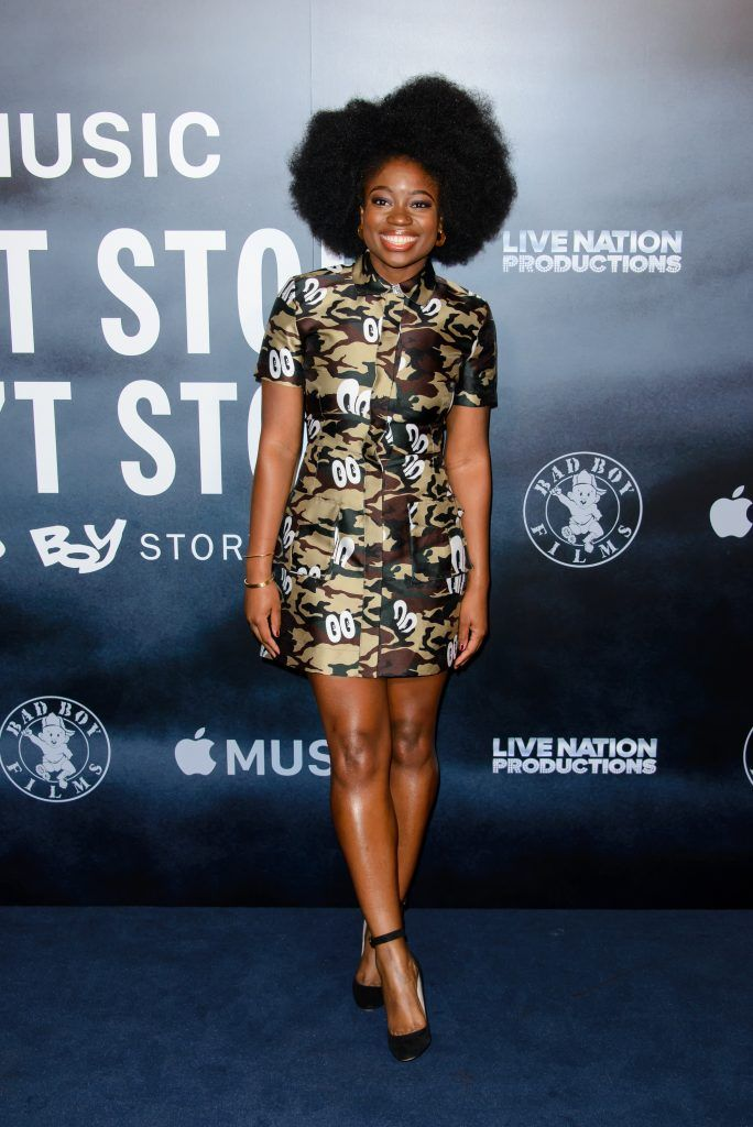 """Clara Amfo attends the London Screening of """"Can't Stop, Won't Stop: A Bad Boy Story"""" at The Curzon Mayfair on May 16, 2017 in London, England. (Photo by Joe Maher/Getty Images)"""