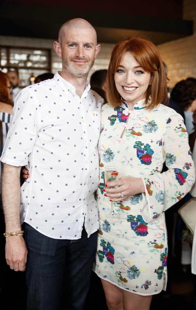 Mel Maclaine and Irene O'Brien pictured at an event in the D Hotel to celebrate the dual launch of their new stylish bar, The Hops and classic Italian restaurant, Il Ponte. Picture by Andres Poveda