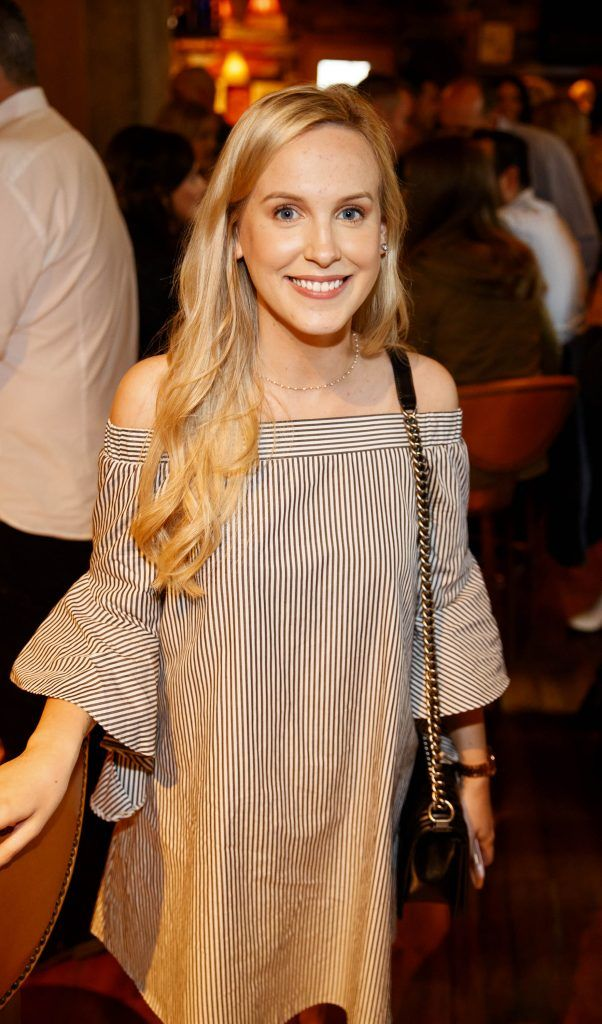 Alana Laverty pictured at an event in the D Hotel to celebrate the dual launch of their new stylish bar, The Hops and classic Italian restaurant, Il Ponte. Picture by Andres Poveda