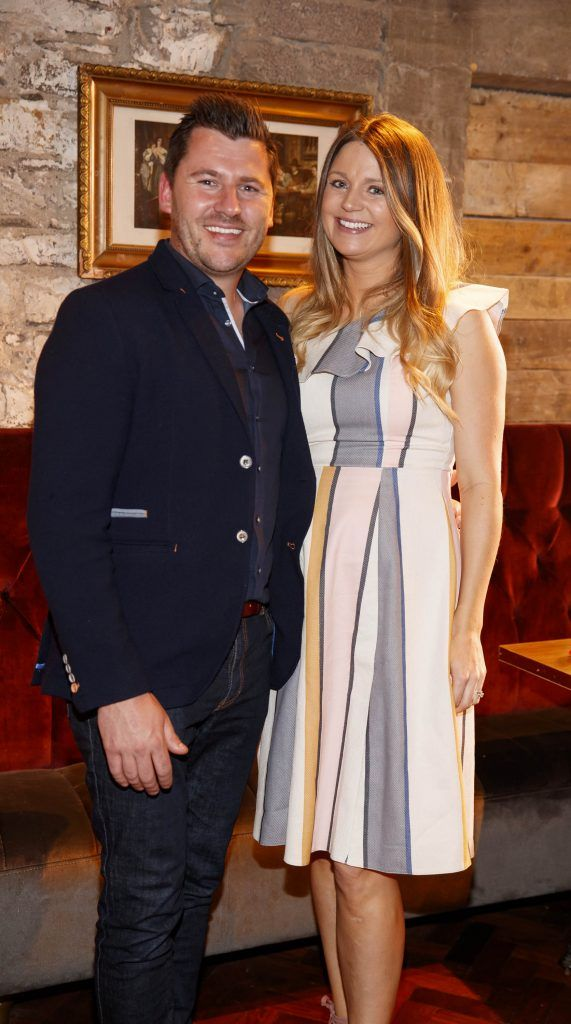 John and Sarah English pictured at an event in the D Hotel to celebrate the dual launch of their new stylish bar, The Hops and classic Italian restaurant, Il Ponte. Picture by Andres Poveda