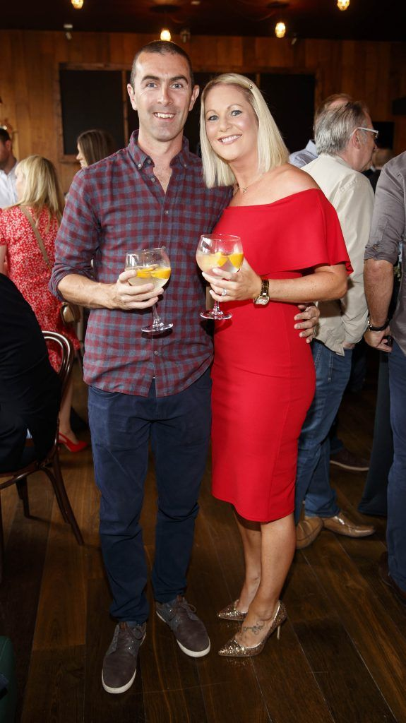 Enan and Annmarie Glynn pictured at an event in the D Hotel to celebrate the dual launch of their new stylish bar, The Hops and classic Italian restaurant, Il Ponte. Picture by Andres Poveda