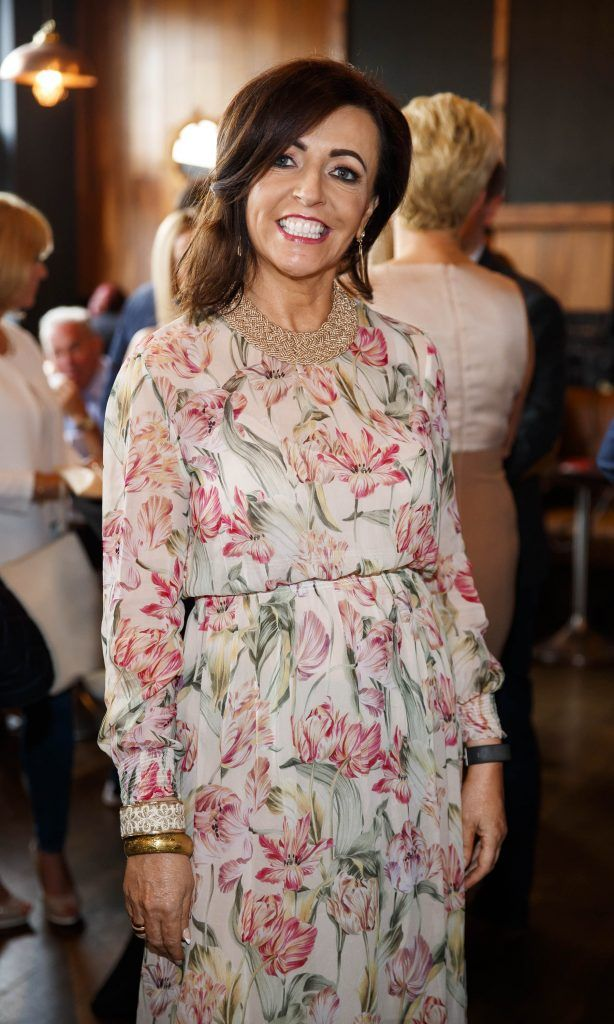 Margo Patton pictured at an event in the D Hotel to celebrate the dual launch of their new stylish bar, The Hops and classic Italian restaurant, Il Ponte. Picture by Andres Poveda