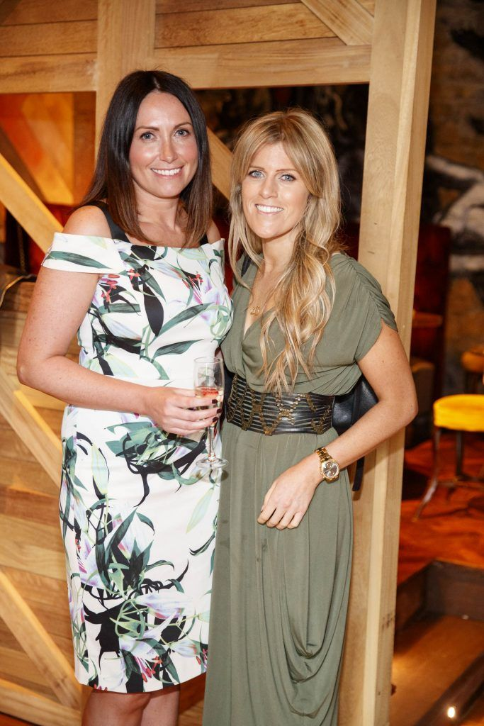 Niamh O'Connor and Audrey O'Connor pictured at an event in the D Hotel to celebrate the dual launch of their new stylish bar, The Hops and classic Italian restaurant, Il Ponte. Picture by Andres Poveda