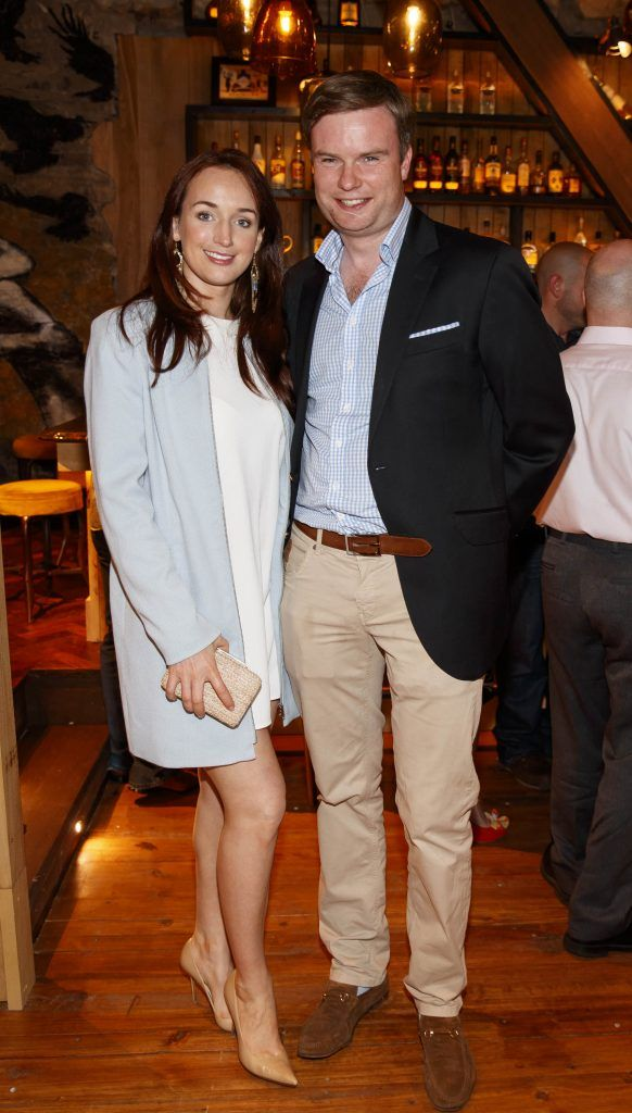 Emer and Mark Flood pictured at an event in the D Hotel to celebrate the dual launch of their new stylish bar, The Hops and classic Italian restaurant, Il Ponte. Picture by Andres Poveda