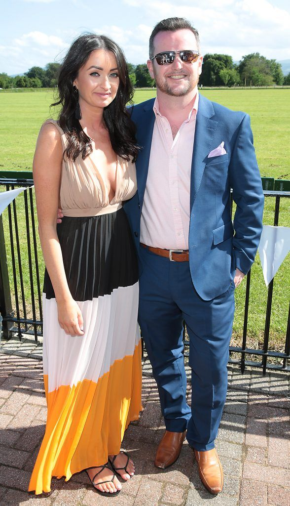 Fiona Fitzsimons and Darren Warren Fiona Fitzsimons and Darren Warren at the June Party in the Park at the Phoenix Park Polo Club to raise funds for the Irish Motor Neurone Disease Association. Picture by Brian McEvoy